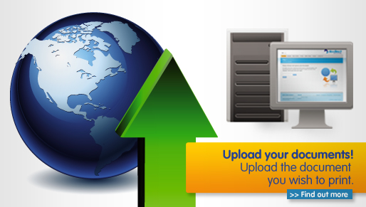 Upload your document for printing
