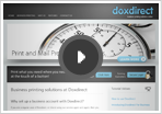 How to use Doxdirect online printing service