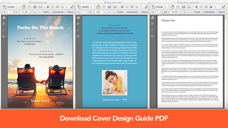Book Cover Design Guide : Create a book cover printing doxdirect