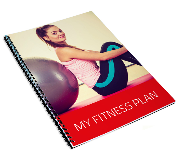 Printed fitness plan